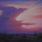 Sunset Silhouette, David Flitner, Rogoway Gallery