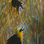 Ruckus in the Bamboo 2, Lil Leclerc Painting, Rogoway