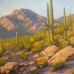 Tucson Desert, Charles Thomas Painting, Rogoway
