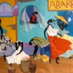 Abarrottes, Paper Collage, CA Santa Maria, Rogoway