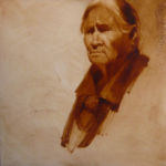 Arizona Treasure/Fay Taso, Lou Maestas Painting, Rogoway