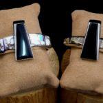 Asymetric Cuffs, Wayne Muskett Jewelry, Rogoway