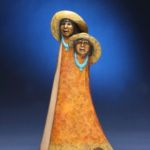 Best Friends, Felicia Sculpture, Rogoway Turquoise Tortoise Gallery