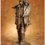 Courage and Faith, Ron Head Bronze, Rogoway Gallery