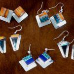 Earrings, Wayne Muskett Jewelry, Rogoway