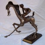 Have No Reins, Deacon Bronze Art, Rogoway Gallery
