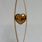 Heart Shape, Warren Cullar, Bronze, Rogoway