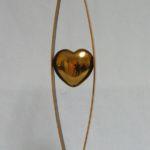 Heart Shape, Warren Cullar, Bronze, Rogoway