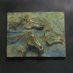 Horse Power, Warren Cullar, Bronze, Rogoway