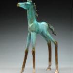 Look, Alex Alvis, Horse Bronze, Rogoway