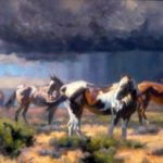 Monsoon Season, Brandon Bailey Painting, Rogoway