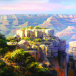 Moran Point Vista, Charles Pabst Giclee, Rogoway Gallery