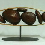 Pods Horizontal, Warren Cullar, Bronze, Rogoway