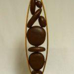 Pods Vertical, Warren Cullar, Bronze, Rogoway