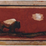 The Last Buffalo, Garrison Painting, Rogoway