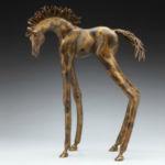 Yata, Alex Alvis, Horse Bronze, Rogoway