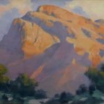 Study: Warm Glow of the Catalinas, Walter Porter