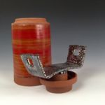 John Carney #104, Ceramic Vessel Art, Rogoway Gallery