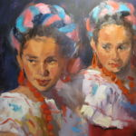 Ready to Dance, Gretchen Lopez, Rogoway Gallery