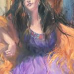 The Dancing Gypsy, Gretchen Lopez, Rogoway Gallery