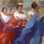 Tres Hermanas, Gretchen Lopez, Rogoway Gallery