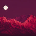 Moonrise Over Mt Kanchenjunga, Brian A. Vikander, Photography, Rogoway Gallery